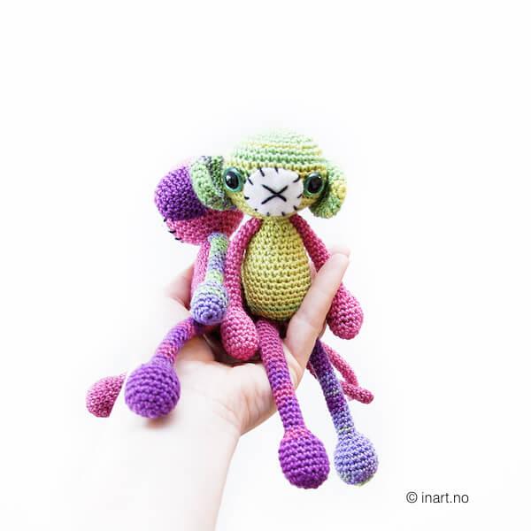 Geir - the Crochet Monkey
