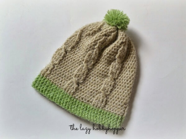 Crochet Cable Stitch Hat