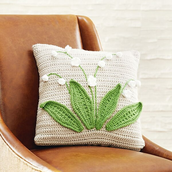 Lily Of The Valley Pillow