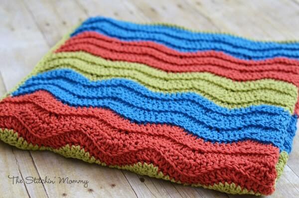Easy Ripple Blanket