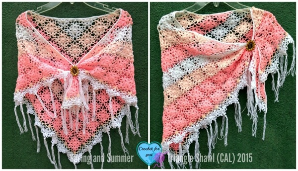 Spring and Summer Triangle Shawl
