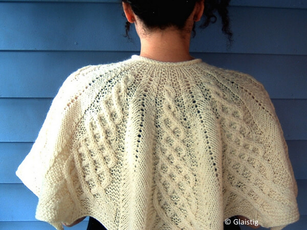 Kathy Kelly Cabled Capelet