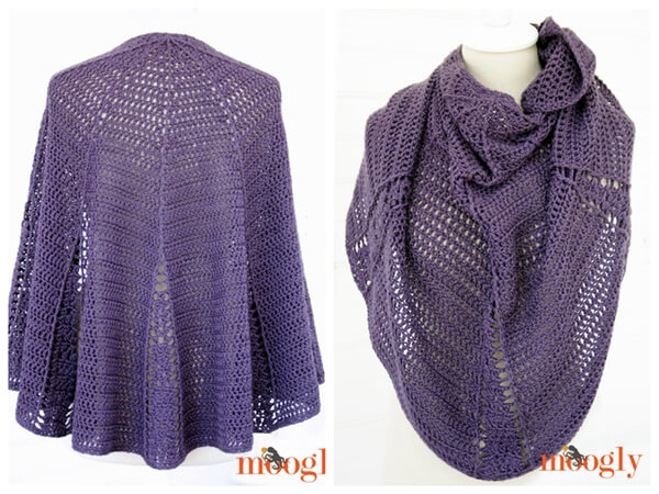 Branching Out Shawlette