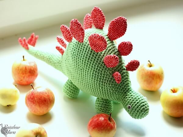 Hello Stegosaurus