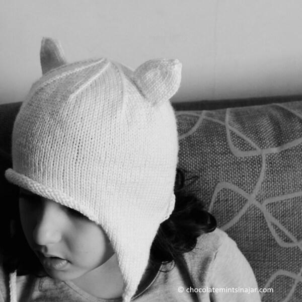 Knitty Kitty Cat Hat