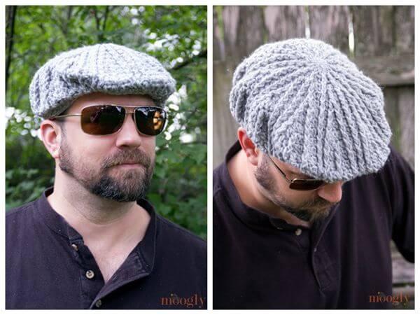 Men's Cabled Golf Cap