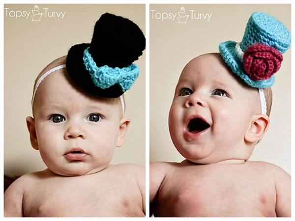 Newborn Top Hat for Photoshoots