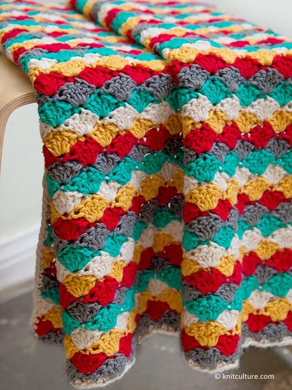 Beachcomber Baby Blanket