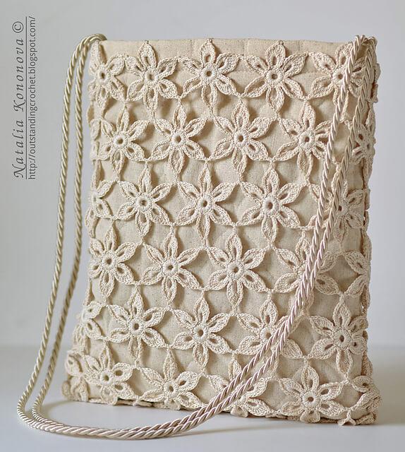 Crochet Tote Summer Bag