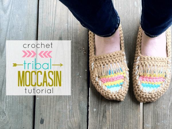 Tribal Moccasin