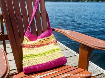 Crochet Beach Tote Bag Pattern