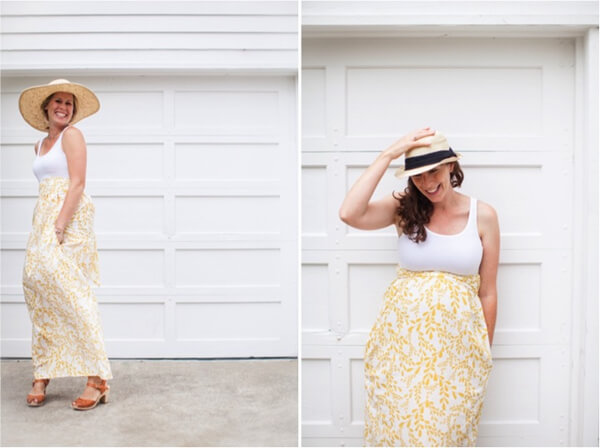 tank top dress with in-seam pockets