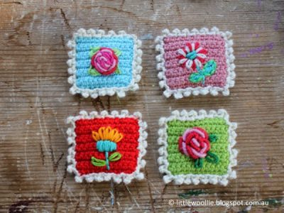 Crochet a Postage Stamp