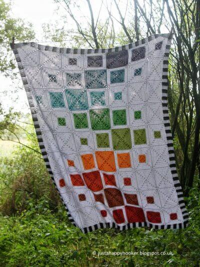 Quilt Inspired Blanket