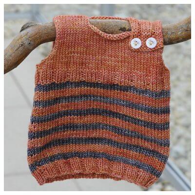 Baby Newborn Magic Troll Vest