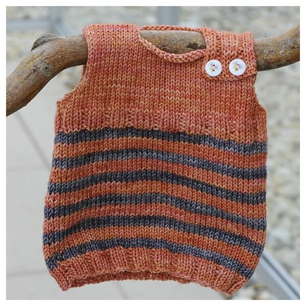 Baby Vest Knitting Pattern : Baby newborn magic troll vest share a pattern