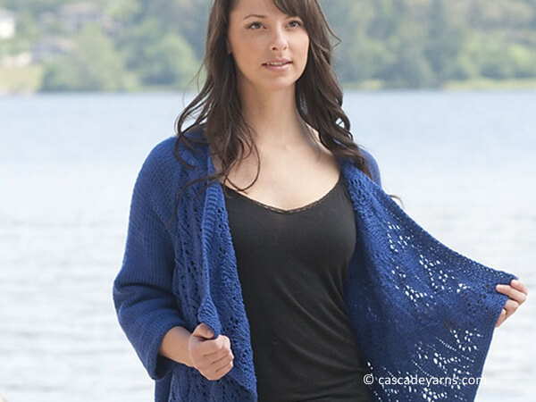 Summer Lace Wrap Cardigan