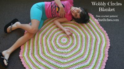 Wobbly Circles Blanket