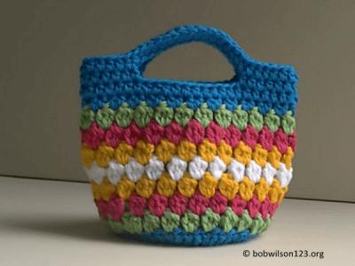 Cluster Stitch Bag