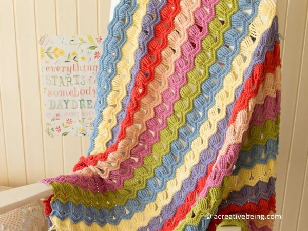 Old Fashioned Feather Blanket