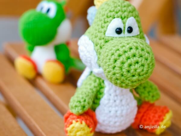 Saroh´s do-it-yourself Blog: Free Yoshi Amigurumi Crochet Pattern | 450x600