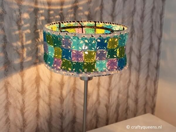 Granny Collage Lampshade