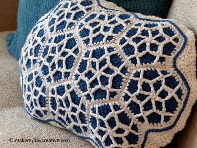 Moroccan Motif Cushion
