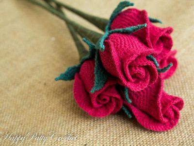 Closed Rose flower