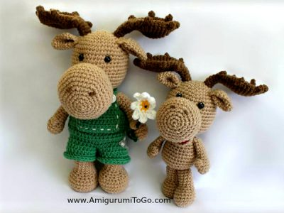 Little Bigfoot Moose