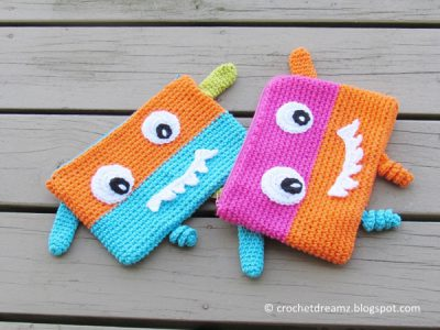 Monster Pencil Case or Pouch