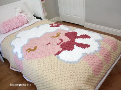 Corner to Corner C2C Baby Sheep