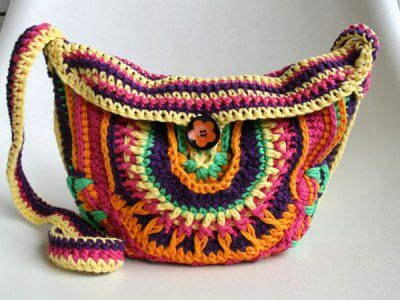 Mandala Crochet Bag Pattern