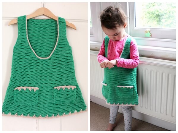 Kelly Pinafore Dress Pattern
