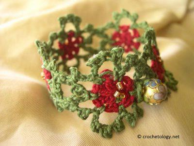 Christmas Motifs Bracelet