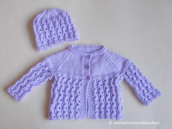 Lilac Blossom Baby Set