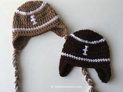 Newborn Football Hats