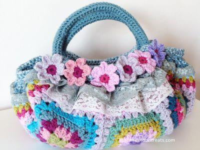 Attic24 Harmony squares bag