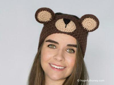 Teddy Bear Headband