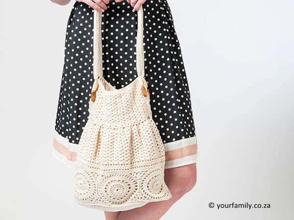 Vintage Styled Crochet Bag