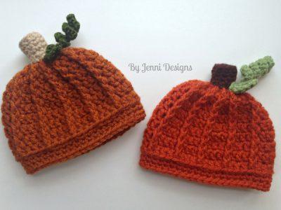 Newborn Pumpkin Beanie Hat
