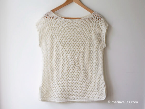 Best Knitting Vacations : Summer vacation knit top pattern share a