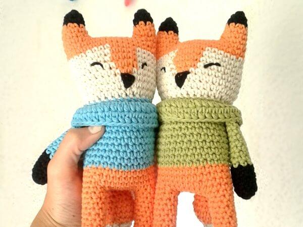 Fox Amigurumi Pattern