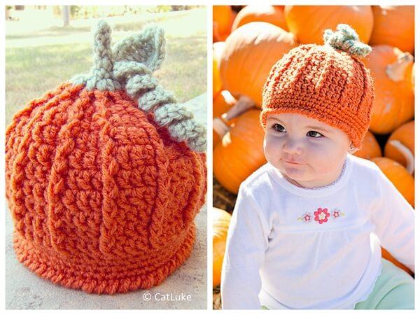 Pumpkin Harvest Hat