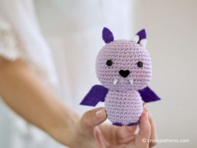 Crochet Bat Batsy