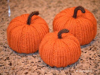 Knit Pumpkin