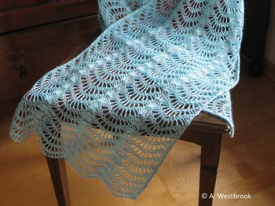Lacy Feather and Fan Pattern