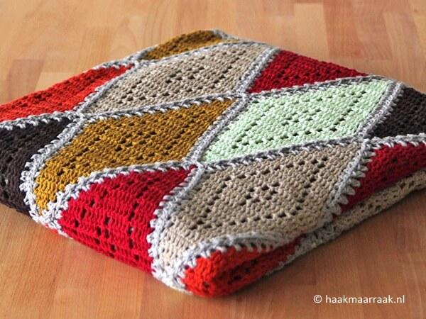 the Spicy Diamond Blanket