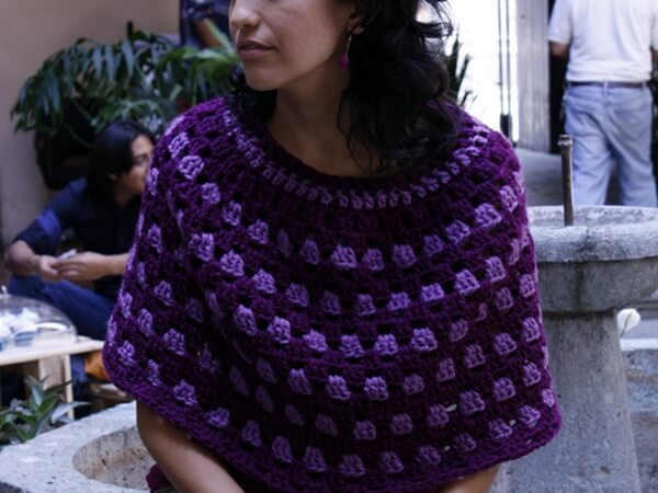 The Free Granny Poncho Pattern