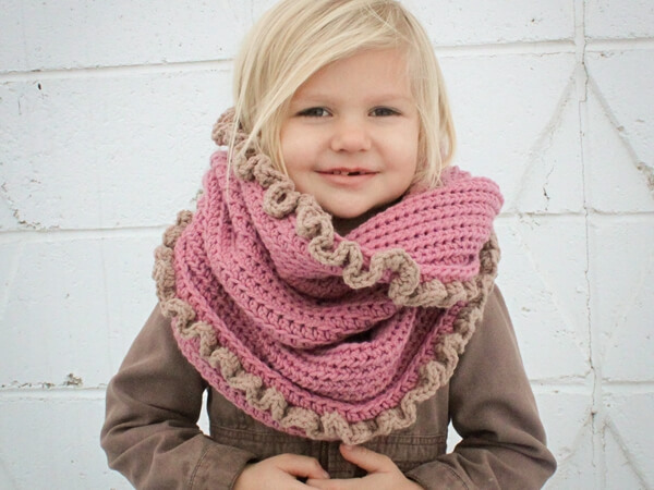 Loopy Cowl Scarf