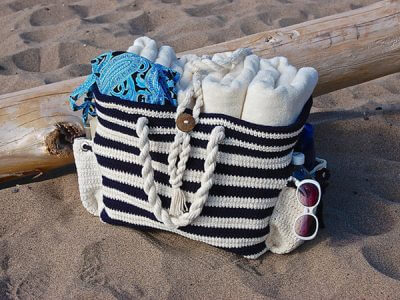"""Nautical Knots"" Beach Bag"